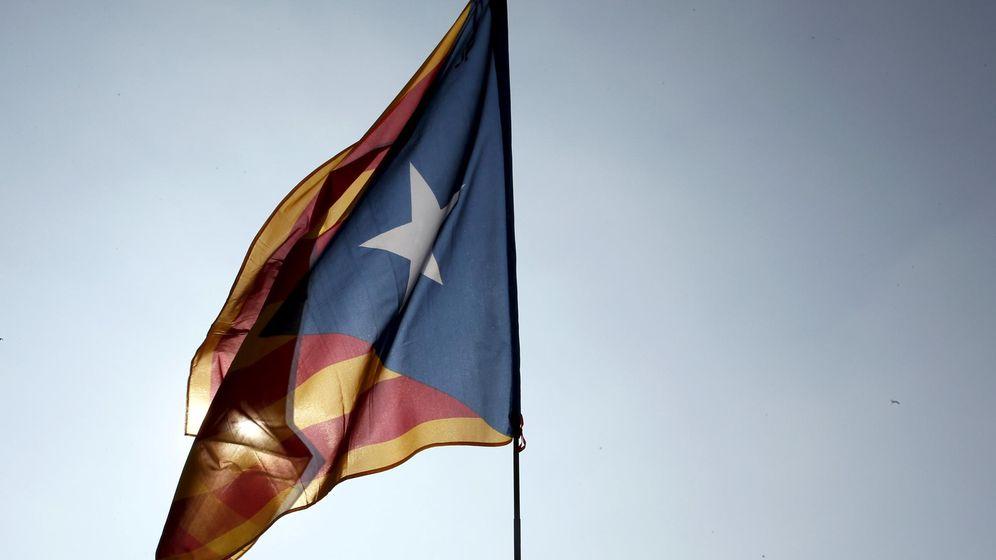 Foto: Bandera separatista catalana. (Reuters)