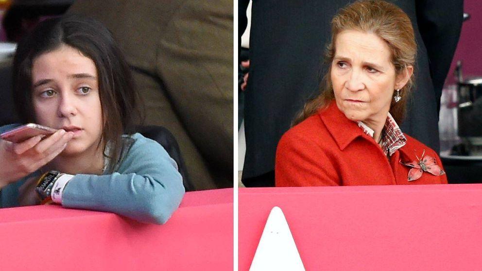 La infanta Elena y Victoria Federica, invitadas de excepción en la Madrid Horse Week