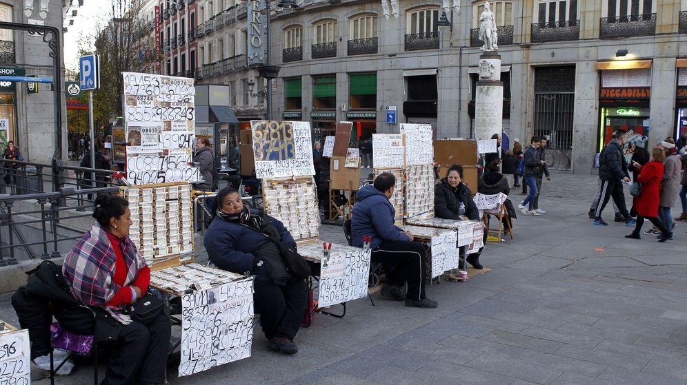 Foto: Venta de la Lotería de Navidad