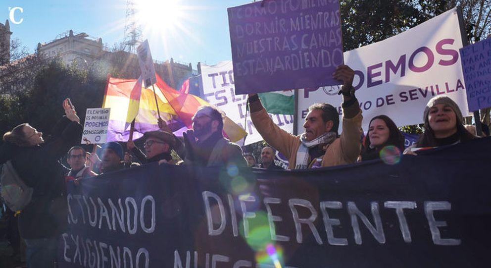 Íñigo Errejón: Esta manifestación empieza en Cibeles y acaba en Moncloa