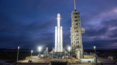El cohete más grande de SpaceX está listo para despegar