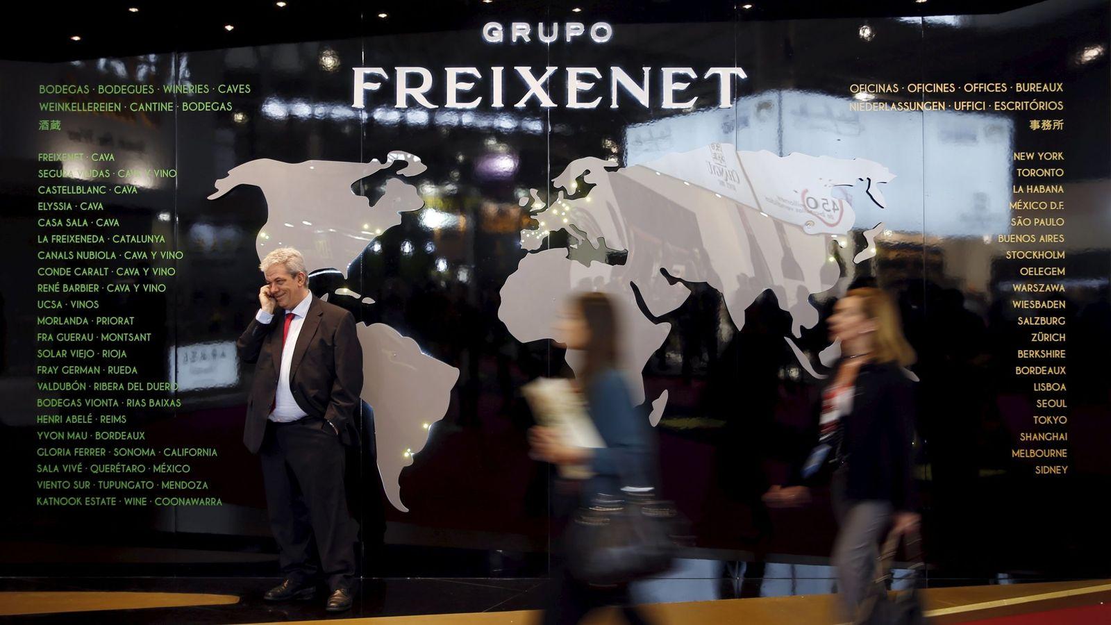 Foto: Un cartel del grupo Freixenet. (Reuters)