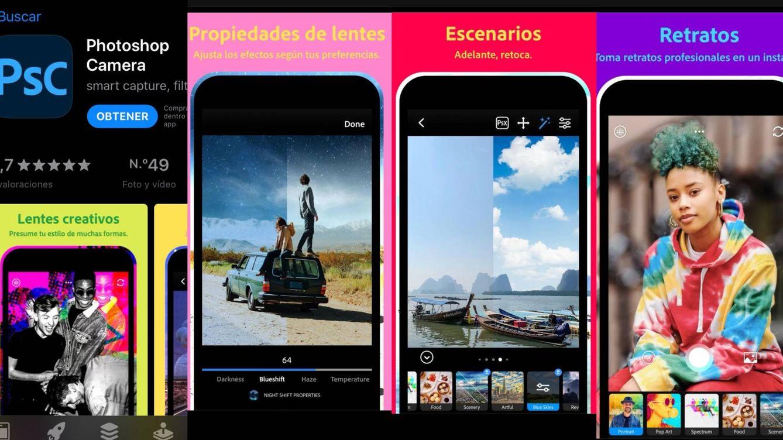 Adobe lanza para Android e iOS la 'app' Photoshop Camera con más de 80 filtros