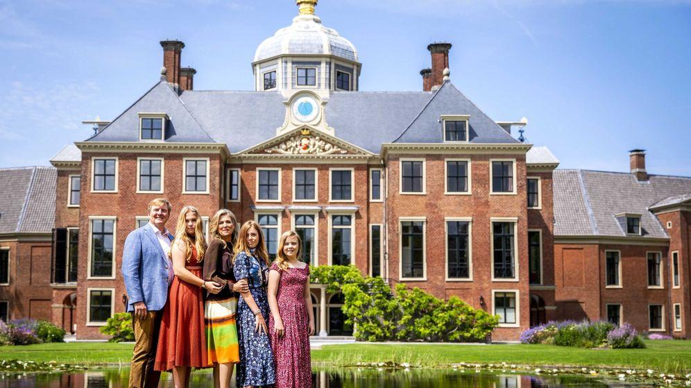 Foto: La familia real holandesa, en Huis ten Bosch. (EFE)