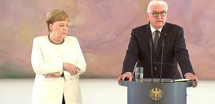 Post de Merkel vuelve a sufrir un visible temblor corporal en un acto en Berlín