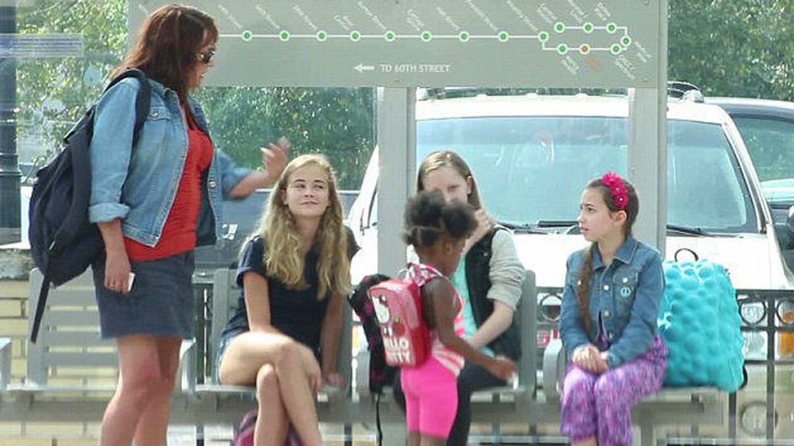 Foto: Un experimento ha querido comprobar la forma de actuar ante un caso de 'bullying' (captura de YouTube)