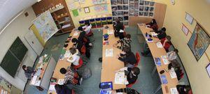 """Foto: El colegio del futuro, separar a """"los niños que no van bien"""""""