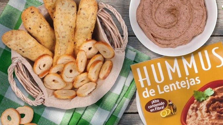 Hummus de lentejas de Mercadona. (Mercadona)
