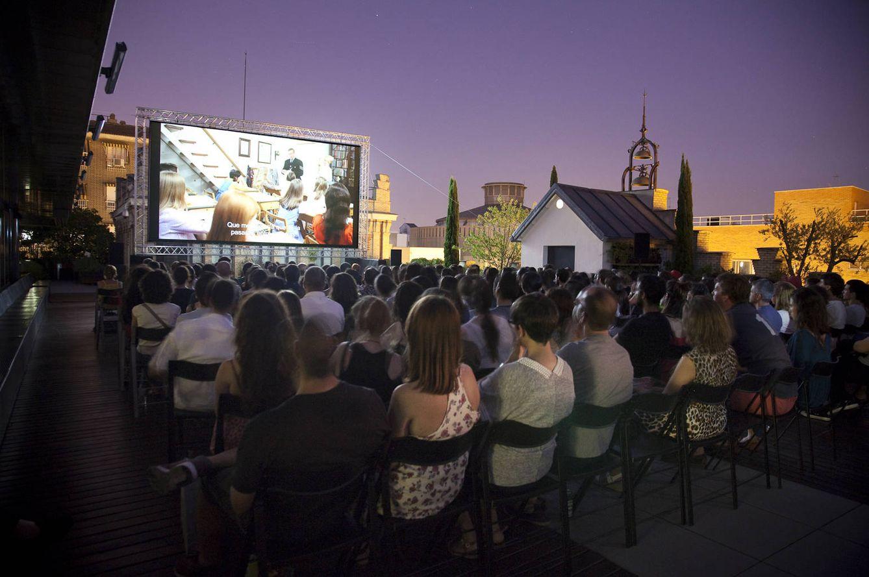 Cine cines de verano en madrid barcelona valencia - Cartelera de cine artesiete las terrazas ...
