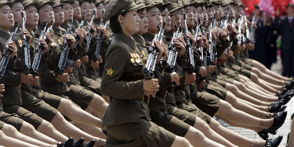 Los cambios cosméticos de Kim Jong-Un: faldas más cortas y tacones más altos