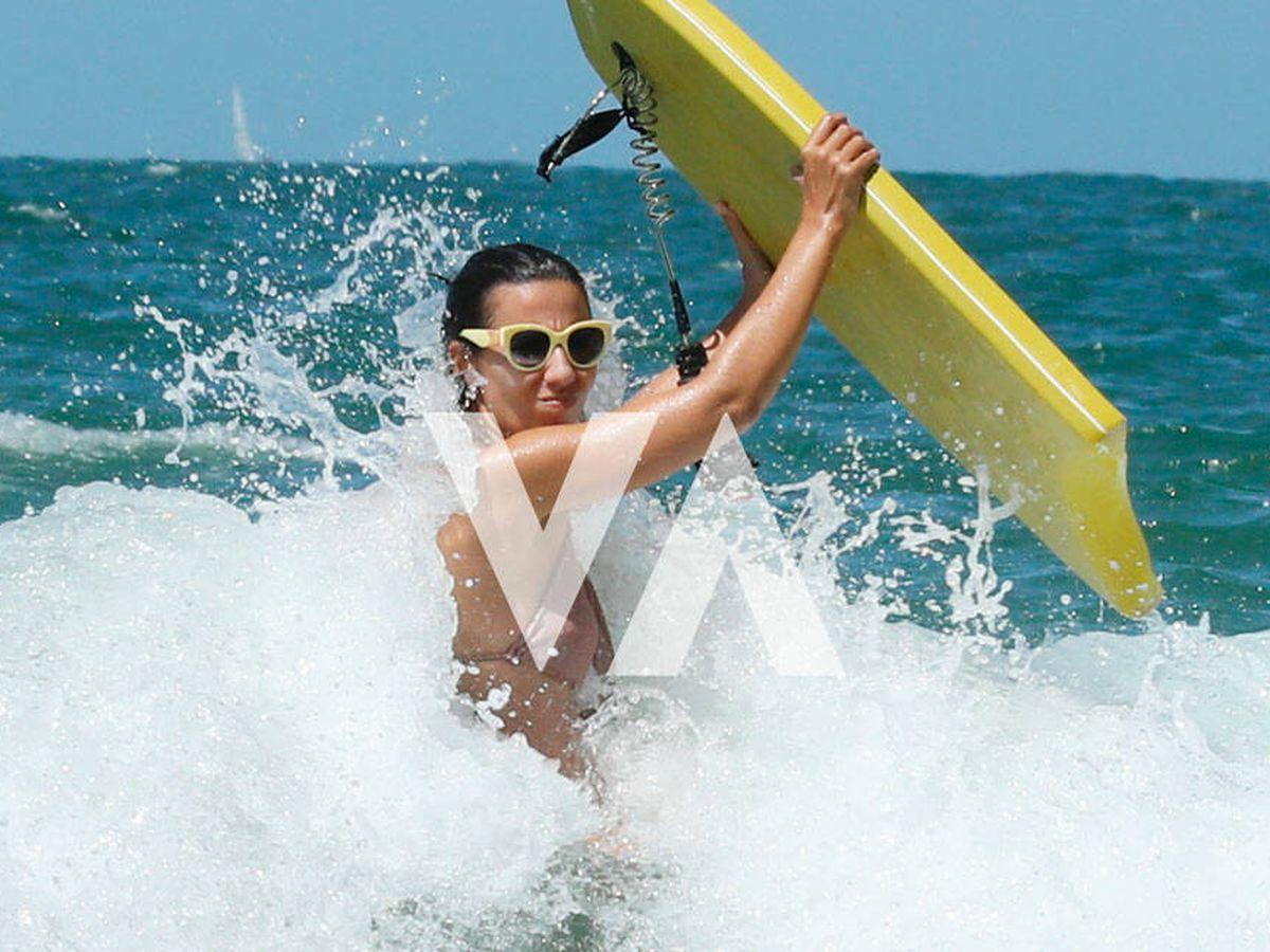 Foto: Ana Pastor, disfrutando a tope del mar. (Clipper)