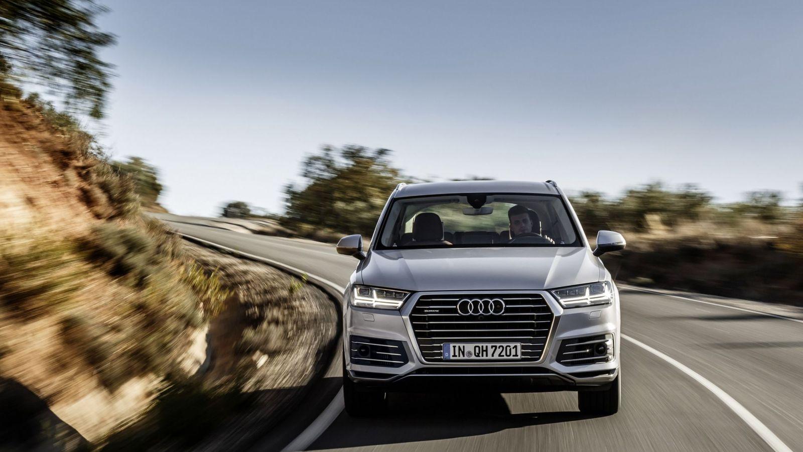 Foto: Nuevo Audi Q7 e-tron