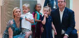 Post de Jacques y Gabriella vuelven al colegio entre rumores de embarazo de Charlène