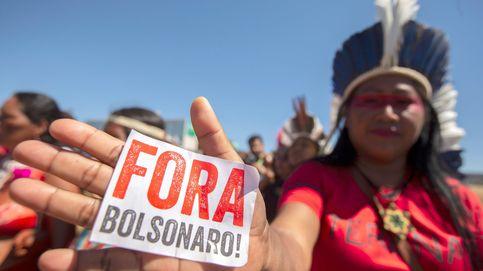 Jornada de protestas de indígenas brasileñas contra Bolsonaro