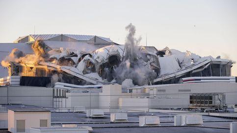Merkel no logra formar nuevo gobierno y demolición del Georgia Dome: el día en fotos