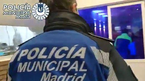 Atrapados en una fiesta ilegal: desalojan el local en Madrid y detienen a los responsables