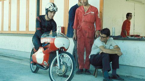 Muere Ángel Nieto, el piloto que durmió en una frutería soñando ser campeón