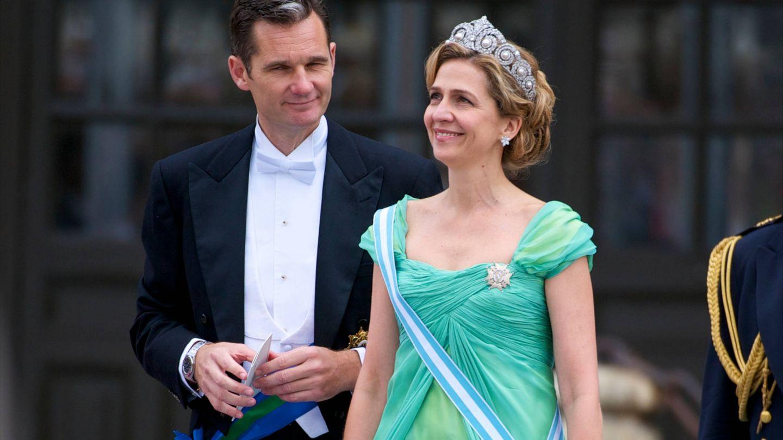 La infanta con la tiara Cartier. (Limited Pictures)