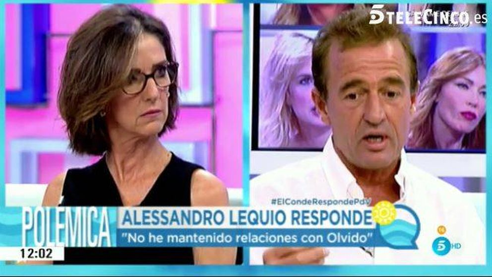Alessandro Lequio se declara culpable de alimentar su fama de putero