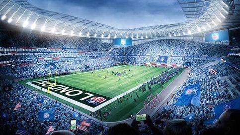 Florentino Pérez quiere que el Bernabéu albergue la NFL como hace el Tottenham