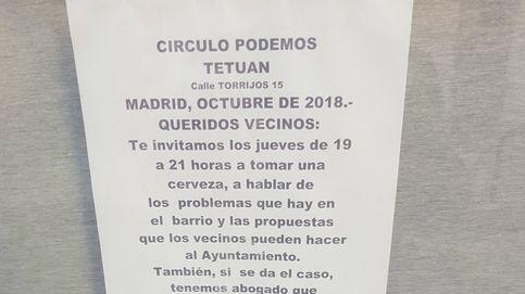 Los círculos de Podemos ofrecen abogado y psicóloga en los barrios