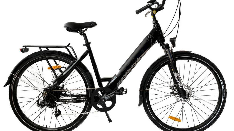 Urbanbiker Sidney.
