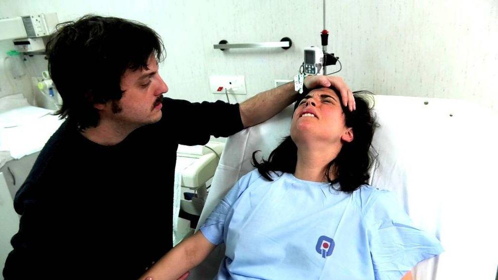 Así fue el parto televisado de Samanta Villar en el reality '9 meses'