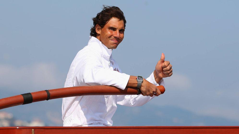 Foto: Rafa Nadal, aficionado a navegar. (Getty)