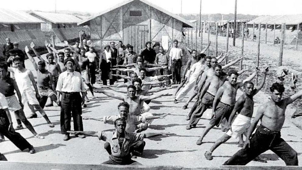 Españoles entre alambradas, refugiados sin un lugar en el mundo