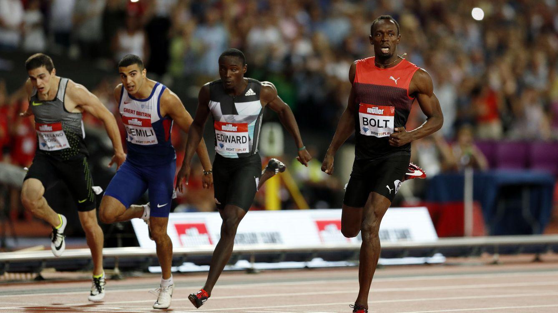 Hortelano hace historia corriendo al lado de Bolt y superando a Lemaitre
