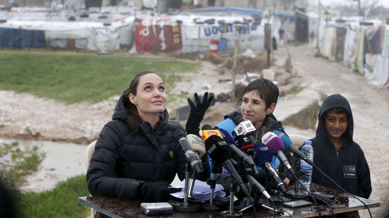 La sorpresa de Angelina Jolie a dos niños que recaudaban fondos vendiendo limonada