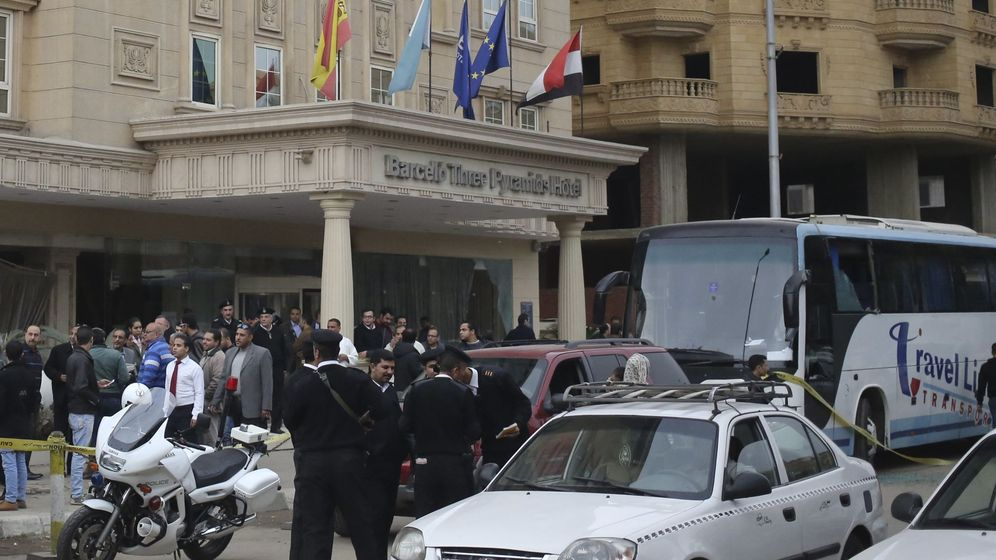Foto: El último atentado en Giza se produjo cerca de un hotel de la cadena Barceló. (Reuters)