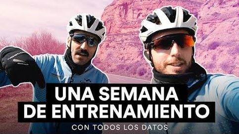 ASÍ ES UNA SEMANA DE ENTRENAMIENTO para el ciclista amateur