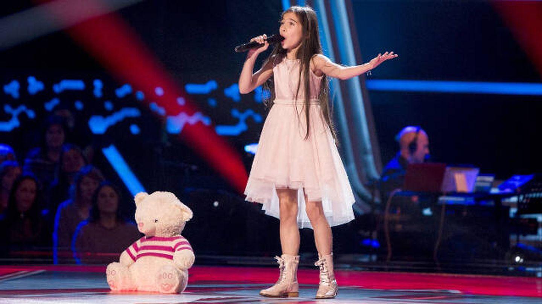 Melani García, candidata 'Eurovisión Junior 2019'. (Atresmedia)