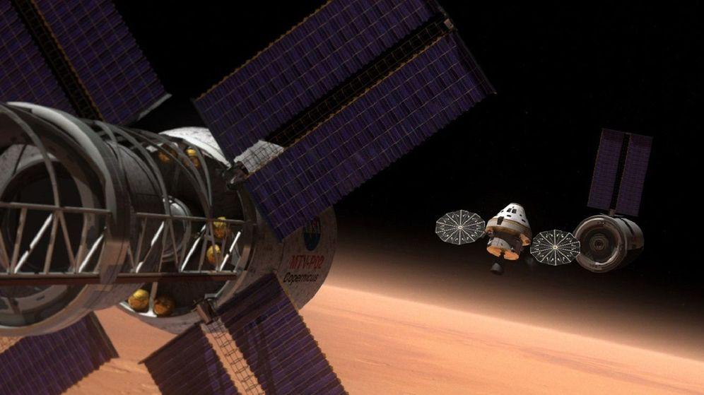 Foto: La NASA prepara de manera constante (y algo silenciosa) la infraestructura para viajar a Marte. (NASA)