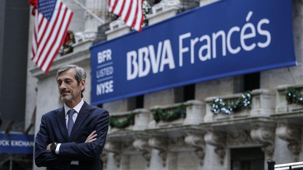 Foto: Martín Zarich, presidente de BBVA Argentina. (EFE)
