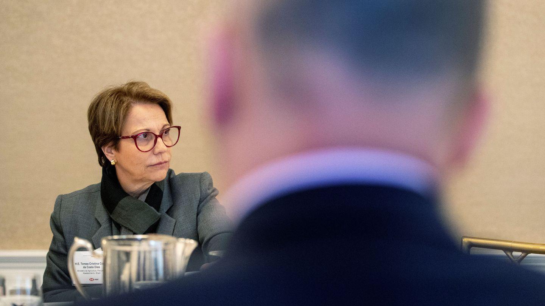 La ministra de Agricultura brasileña Tereza Cristina Corrêa. (Reuters)