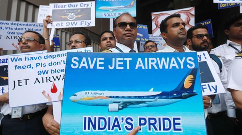 La india Jet Airways se desploma casi un 50 % tras procedimientos de quiebra