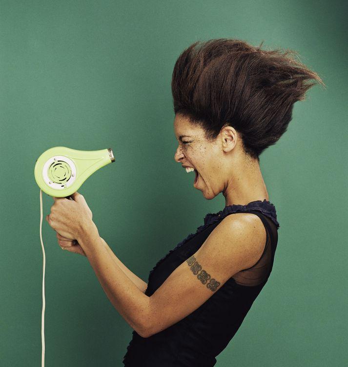 Foto: El modo en que secas tu pelo definirá los rizos que consigas