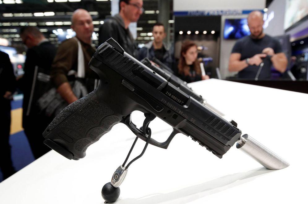 Foto: Una pistola fabricada por Heckler