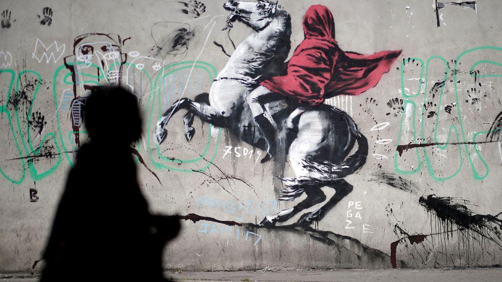 Banksy se estrena en París para abrir los ojos al drama de la inmigración