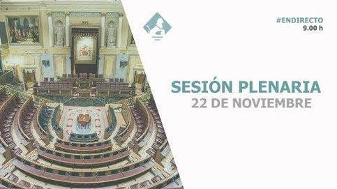 Siga en directo el pleno del Congreso con las hipotecas y la ley de estabilidad
