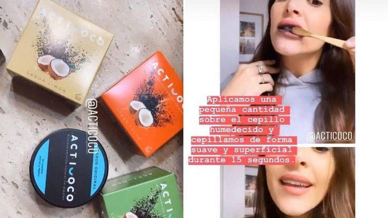 Rocío Osorno usando Acticoco. (Instagram, @rocio0sorno)