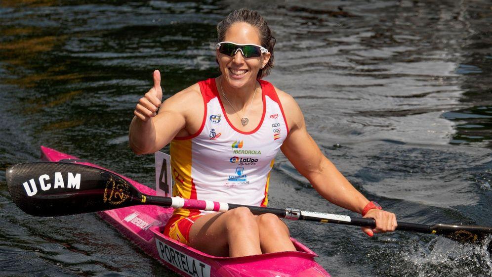 Foto: Teresa Portela ha ganado 15 medallas mundiales. (EFE)