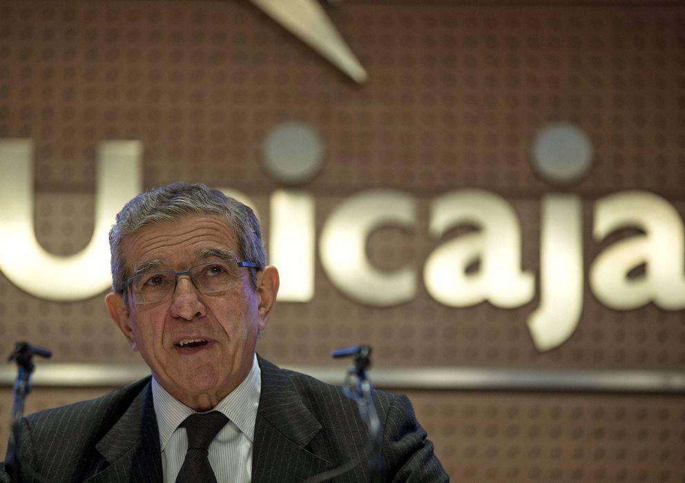 Foto: El presidente de Unicaja Banco, Braulio Medel. (EFE)