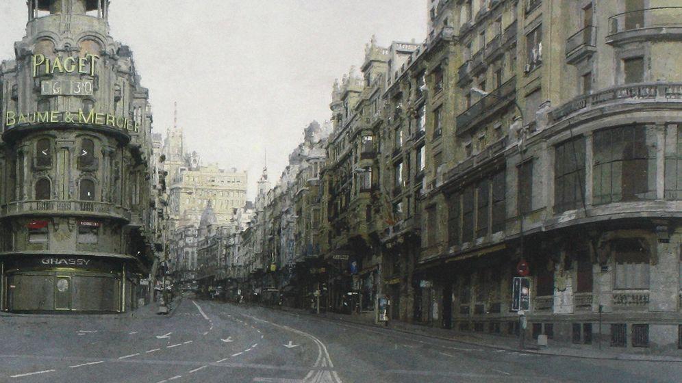 Foto: ¿Qué ves, un escenario apocalíptico o un precioso cuadro de Antonio López?