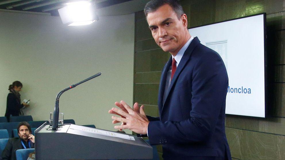 Europa viste a Sánchez con taparrabos