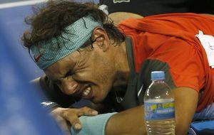 Las lesiones, una constante que han perseguido la carrera de Rafa Nadal