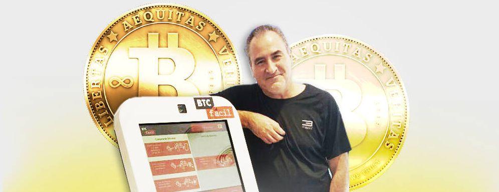Foto: Miguel Pavón Besalú, en la imagen, posee varias empresas de inversión en bitcoins.