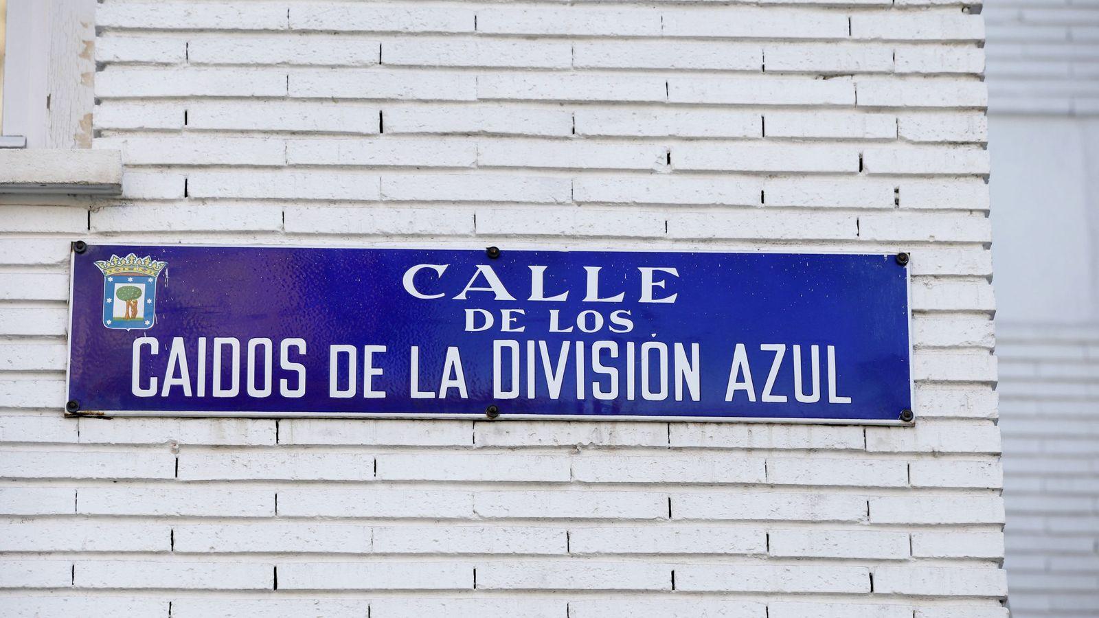 Foto: Una de las calles que el Ayuntamiento de Madrid cambiará en aplicación de la Ley de Memoria Histórica. (EFE)